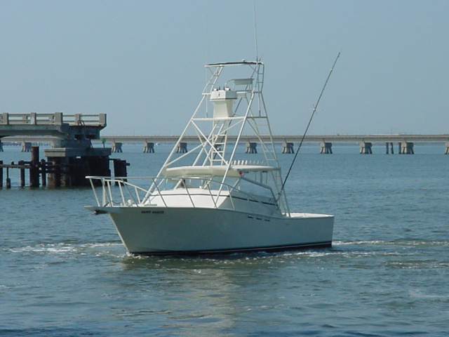 Fishing the gulf coast and biloxi mississippi aboard happy for Biloxi fishing charters
